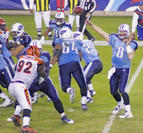 Tennessee Titans Vs.Cincinnati Bengals on November 6,2011.  LP Field Nashville Tennessee.