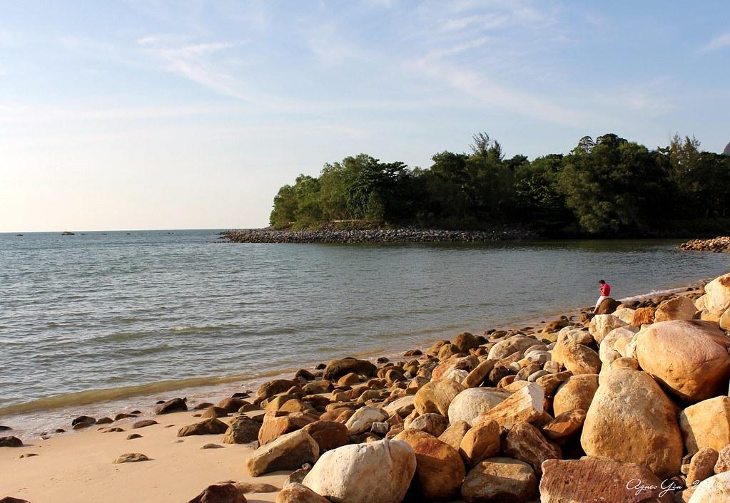 damai beach, kuching, sarawak