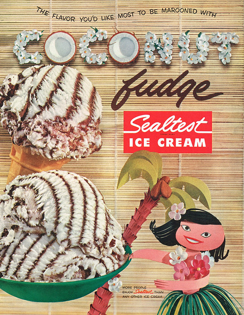 Vintage Ad #1,713: The Flavor You'd Like Most to Be Marooned With