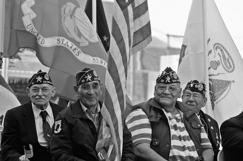 Proud Veterans on Parade