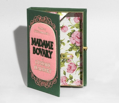 Madame Bovary book clutch by Olympia Le-Tan