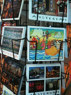 my Amsterdam postcard is officially out