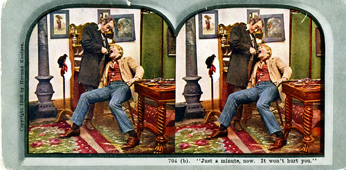 Herman Knutzen stereoview card, 1906, part 2 of 6