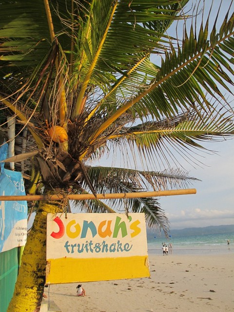 Top Ten Things to Do in Boracay, Jonah's shakes
