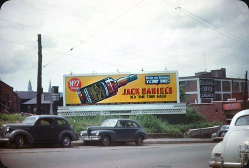 Jack Daniel's Vintage Billboard - Nashville, TN