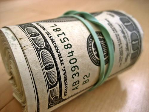 Vegas on a budget - cash roll