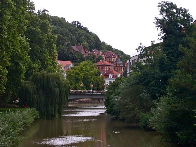 The Neckar River, Tuebingen
