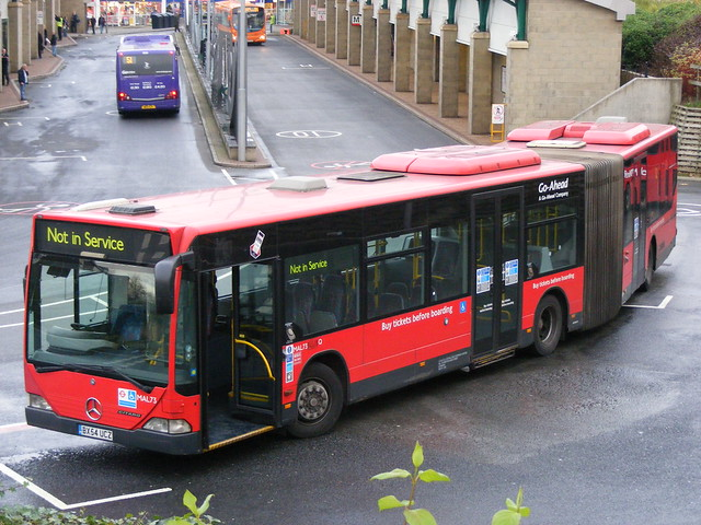 MAL73 BX54UCZ Mercedes Citaro London Central/Go North East