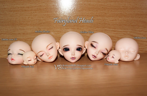 Fairyland Heads