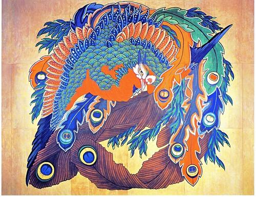 岩松院・北斎筆とされる天井画 by Poran111