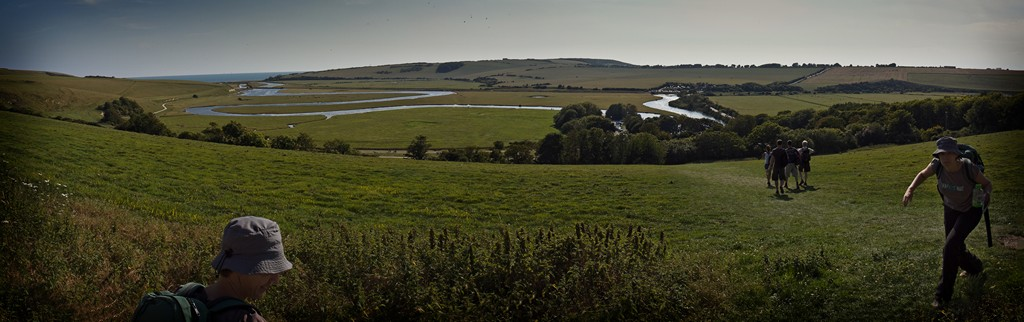 View of Cuckmere Haven from the walk Cuckmere Haven_Panorama1_1024x768