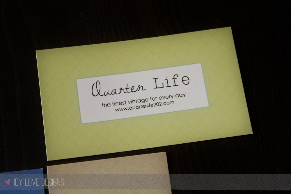 Quarter Life 202 Business Cards