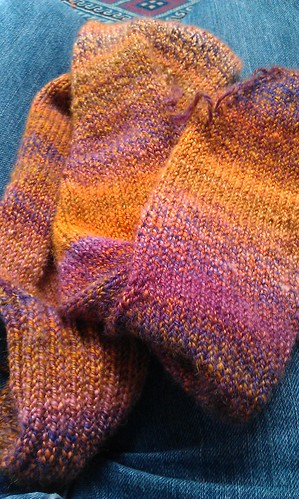 handspun knee highs