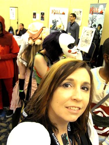 Me at Hal-Con 2011