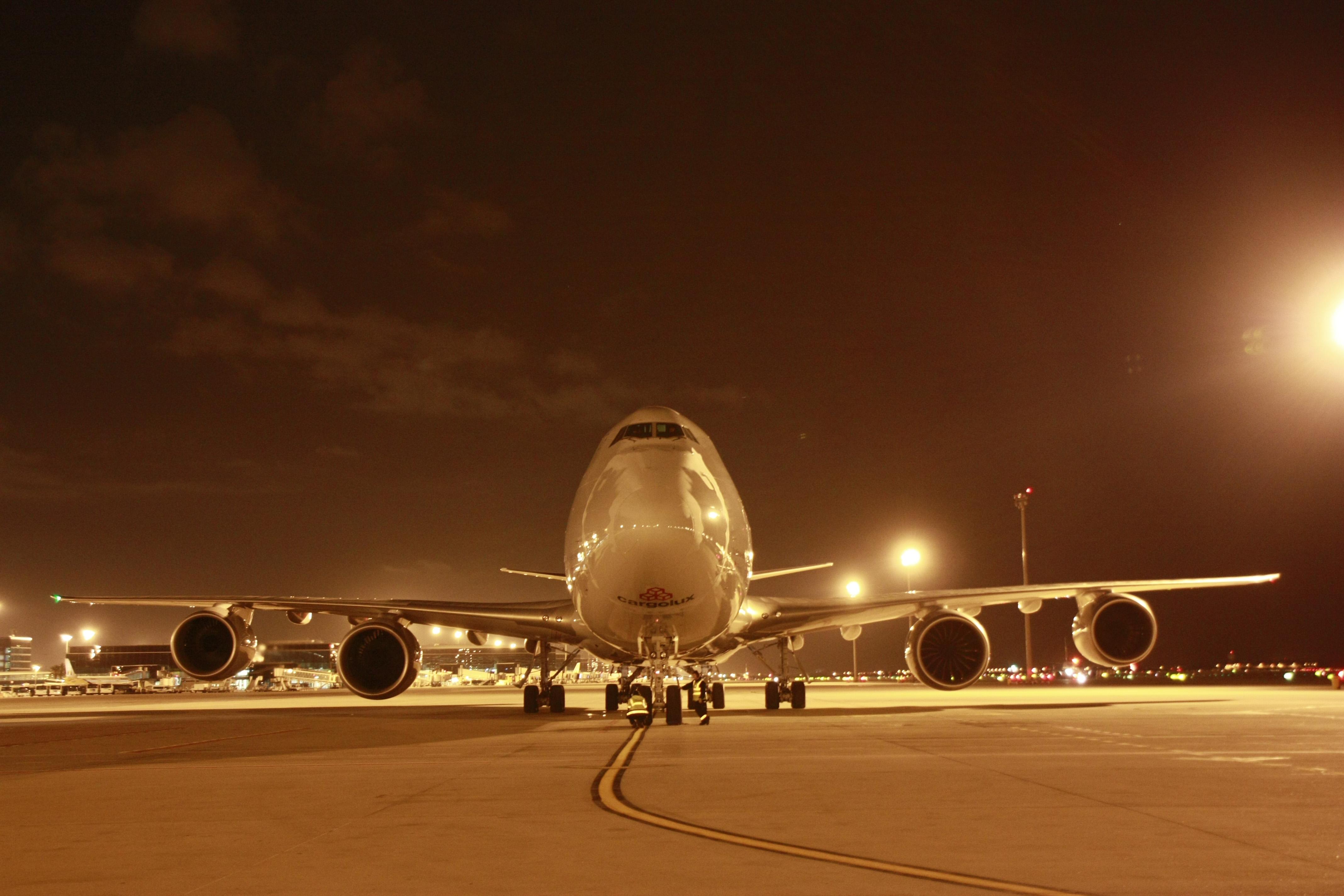 Cargolux en BCN