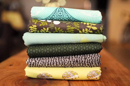 Field Study Quilt fabrics