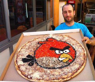 Pizza de Angry Birds