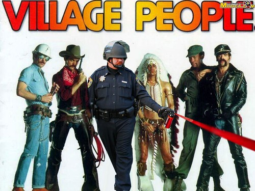 VILLAGE PEOPLE by Colonel Flick