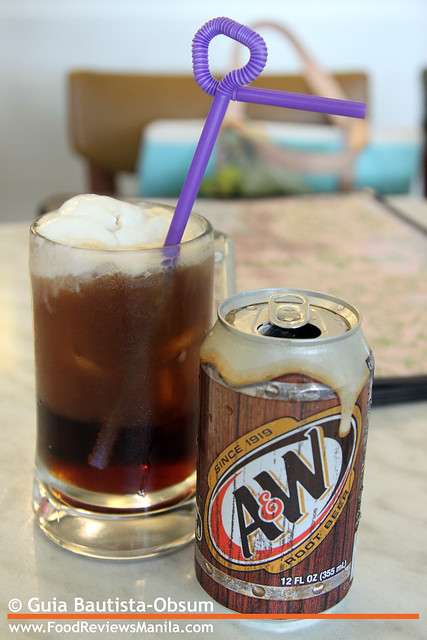 Sweet Pea Rootbeer Float