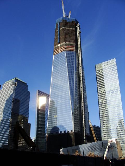 World Trade Center Construction : World trade center construction new york city