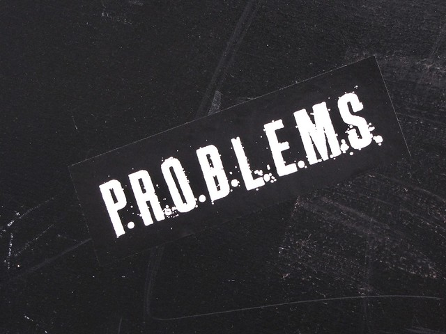 problems from Flickr via Wylio