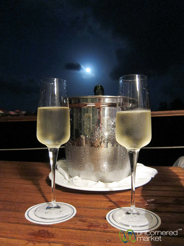Champagne Under Full Moon - Riviera Maya