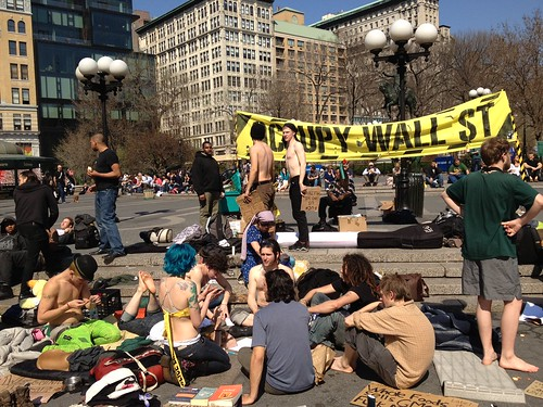 Occupy in Union Square