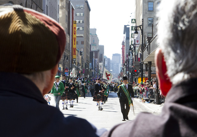St. Patrick's Day Parade, Montreal, 2012