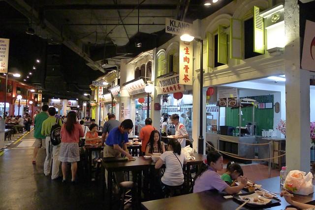 Singapore: Sentosa Beach, Malaysian Food Street & Crane Dance @ Universal Studios Singapore