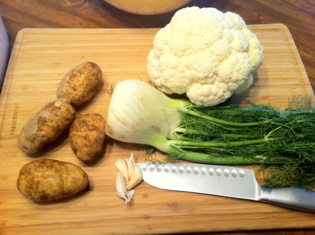 Ingedients for Mashed Potatoes
