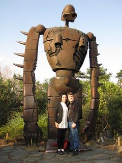 Matt and Virginia at Ghibli Museum, Tokyo, Japan