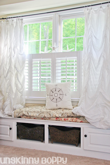 cottage window seat ideas