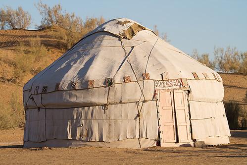 sunrise desert september yurt uzbekistan centralasia yourte jurte 2011 llens asiecentrale ouzbékistan kyzylkum ef70200mmf4lisusm узбекистан юрта eos7d kyzylkoum