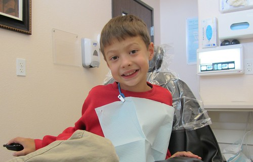 First time at the dentist