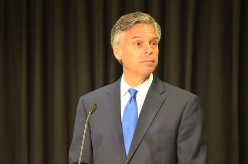 Presidential Candidate Jon Huntsman at Southern New Hampshire University