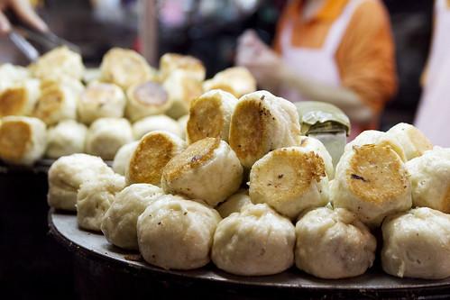 Sheng jian bao stand