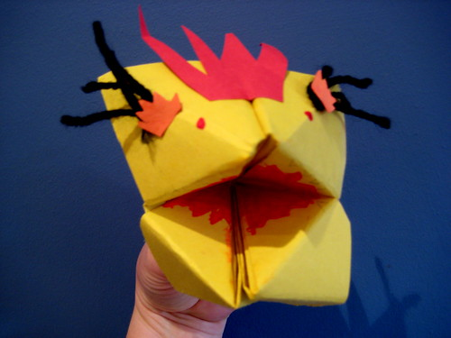 scary monster craft