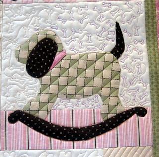 Closeup #2 of Noreen's baby quilt