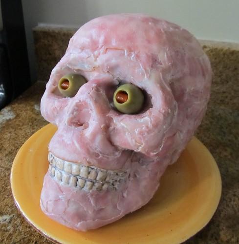 Halloween Food 2011 - meat head