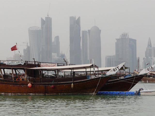 Skyline de Doha (Qatar)