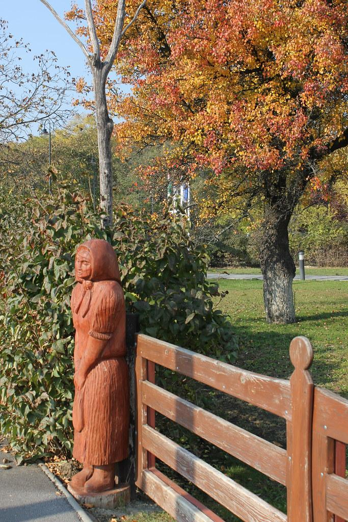 Estatua en Hortobágy
