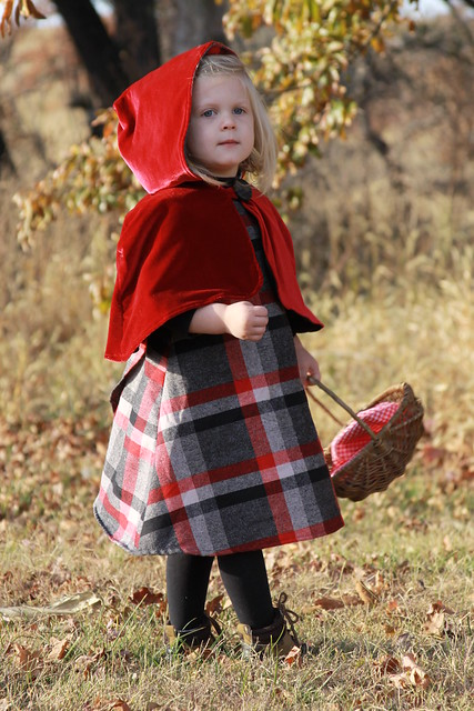 Halloween Costume Little Red Riding Hood
