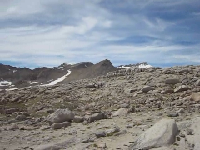 0524 Dusy Basin panorama video