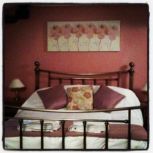 今晚的房間走玫瑰風