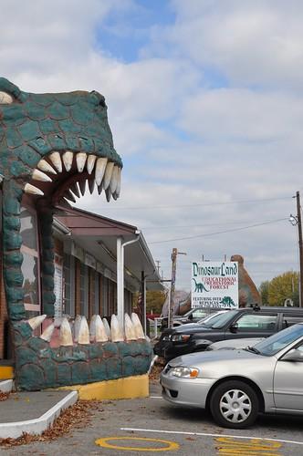 Dinosaur Land Entrance
