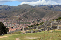 Overlooking Cusco