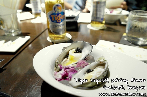 Tiger Crystal pairing dinner - Garibaldi Bangsar-3