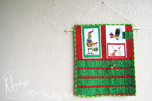 Finished Grinch Advent Calender - 6
