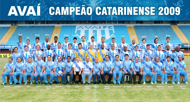 AvaiCampeaoCatarinense2009