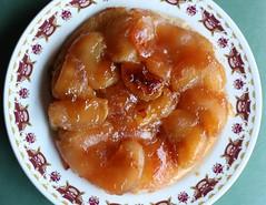 baked goods, food, dish, tarte tatin, dessert, cuisine, pudding,